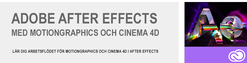 Adobe After Effects grundkurs