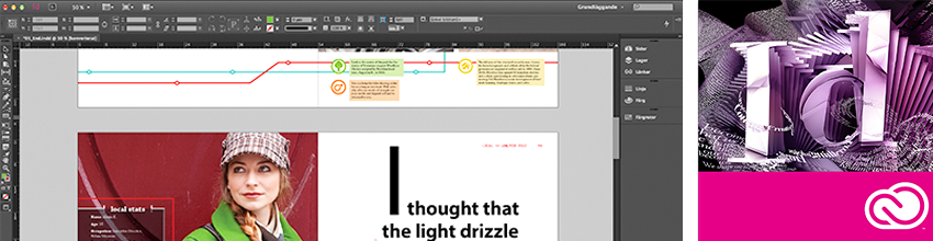 Adobe InDesign för webb